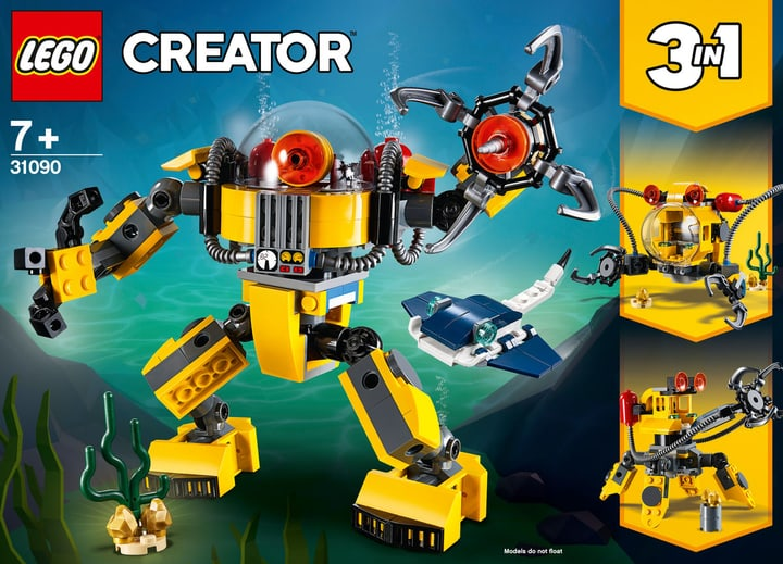LEGO Creator 31090 Le robot sous-ma 748702400000 Photo no. 1