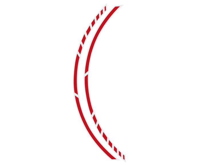 PIN-Striping Racing rosso Tuning FOLIATEC 620280900000 N. figura 1