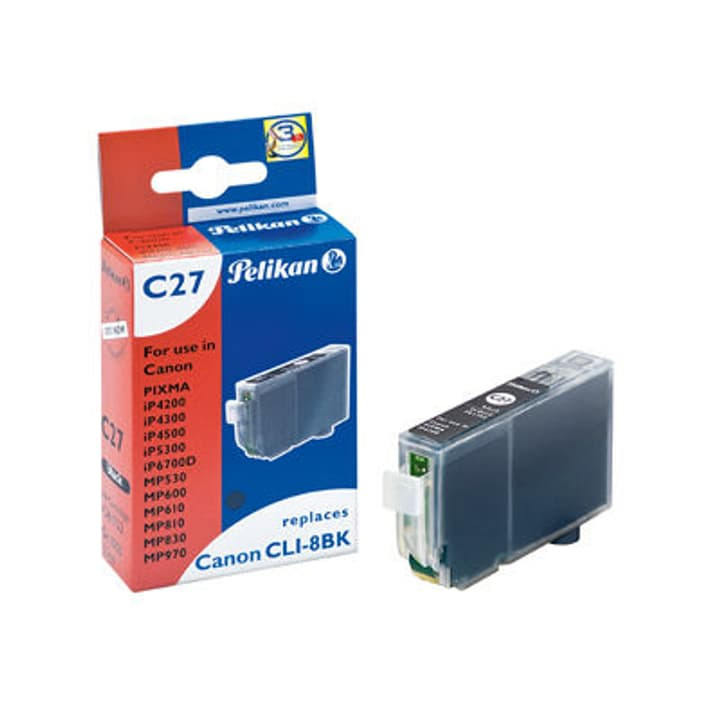 CLI-8 black Cartuccia d'inchiostro Pelikan 797529600000 N. figura 1