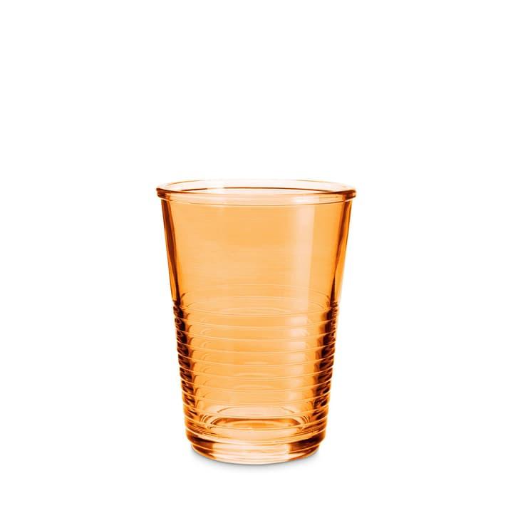 MACAO Verre à eau 393013800000 Dimensioni L: 8.0 cm x P: 8.0 cm x A: 10.5 cm Colore Arancione N. figura 1