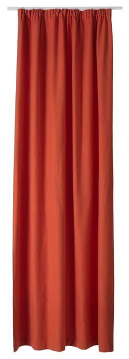 PIETRO Nacht-Fertigvorhang 430266821834 Farbe Orange Grösse B: 145.0 cm x T: 270.0 cm x H:  Bild Nr. 1