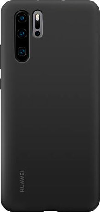 Hard-Cover Silicone Case black Hülle Huawei 785300143388 Bild Nr. 1