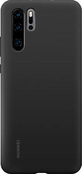 Hard-Cover Silicone Case black Coque Huawei 785300143388 Photo no. 1