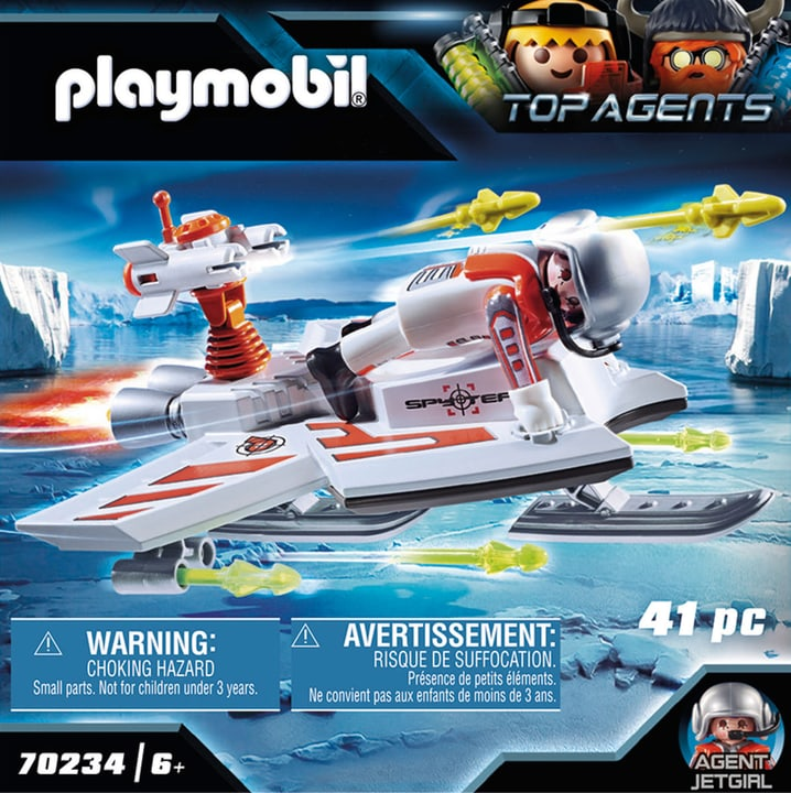 Agent volant 70234 Playmobil 748025900000 Photo no. 1