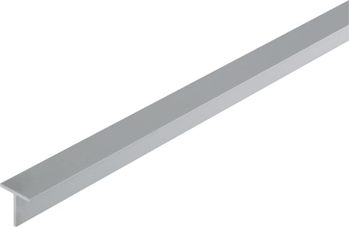 T-Profil 1.5 x 15 x 15mm silber 1m alfer 605108300000 Art T-Profile Grösse a 15 mm x b 1,5 mm x 1 m Bild Nr. 1