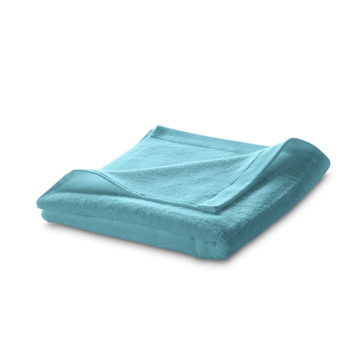 ROYAL Linge de douche 374037300000 Dimensions L: 70.0 cm x P: 140.0 cm Couleur Turquoise Photo no. 1