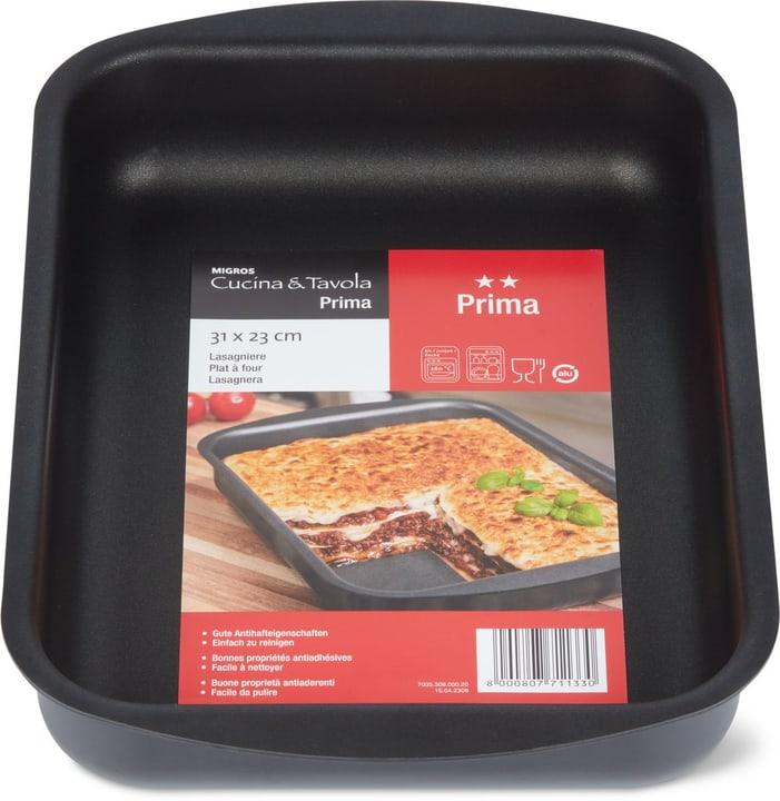 PRIMA Lasagnera Cucina & Tavola 703530900020 Colore Nero Dimensioni L: 23.0 cm N. figura 1