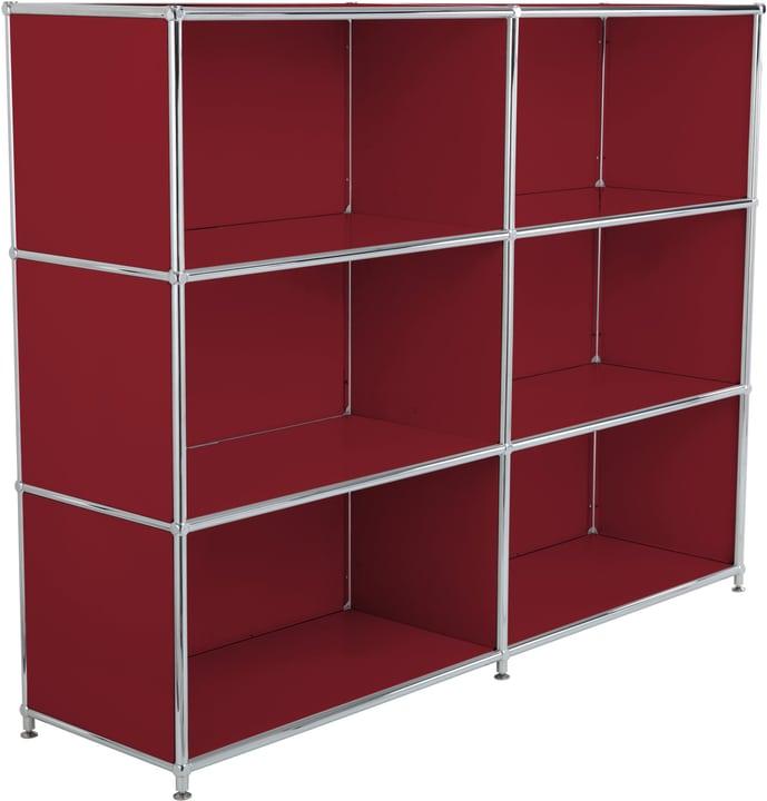 FLEXCUBE Buffet haut 401809200030 Dimensions L: 152.0 cm x P: 40.0 cm x H: 118.0 cm Couleur Rouge Photo no. 1