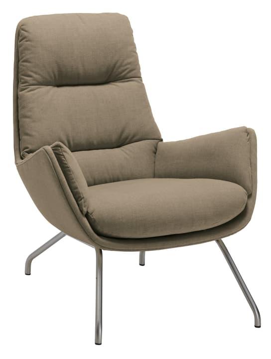 ANDRES Sessel 402452307071 Grösse B: 83.0 cm x T: 87.0 cm x H: 96.0 cm Farbe Hellbraun Bild Nr. 1