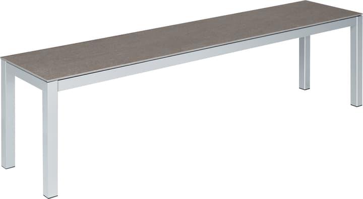 LOCARNO céramique Banc 753188200082 Taille L: 160.0 cm x L: 35.0 cm x H: 45.0 cm Couleur Basalt Photo no. 1