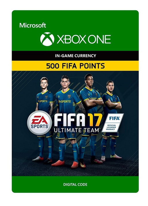 Xbox One - FIFA 17 Ultimate Team: FIFA Points 500 Download (ESD) 785300137373 N. figura 1