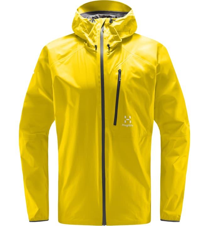 L.I.M. Giacca da uomo Haglöfs 465763700350 Colore giallo Taglie S N. figura 1