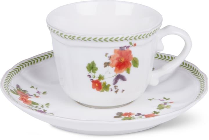 LANDHAUS Tazzina da caffè con piattino Cucina & Tavola 700160300001 Colore Multicolore Dimensioni L: 13.0 cm x A: 7.0 cm N. figura 1