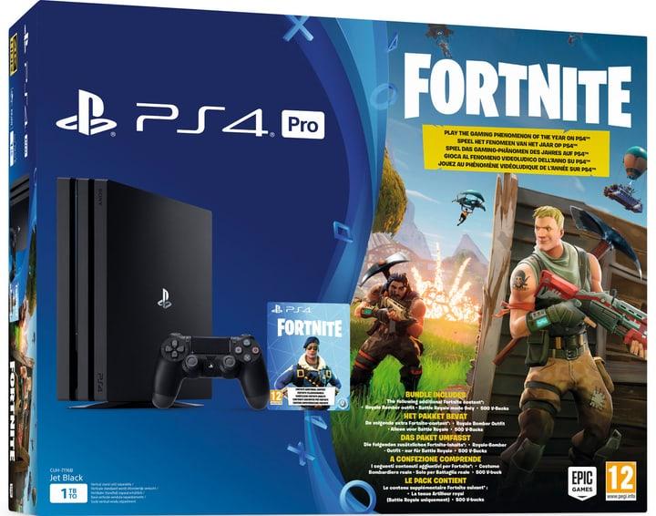 PlayStation4 1TB Pro Fortnite Bundle Sony 785439100000 N. figura 1