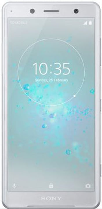 Xperia XZ2 Compact 64GB White Silver Smartphone Sony 785300134644 Photo no. 1