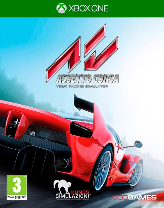 Xbox One - Asseto Corsa (CH-Version) 785300120731 Photo no. 1