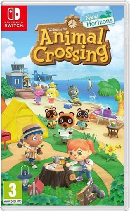 NSW - Animal Crossing New Horizons  D Box Nintendo 785300150327 Langue Allemand Plate-forme Nintendo Switch Photo no. 1