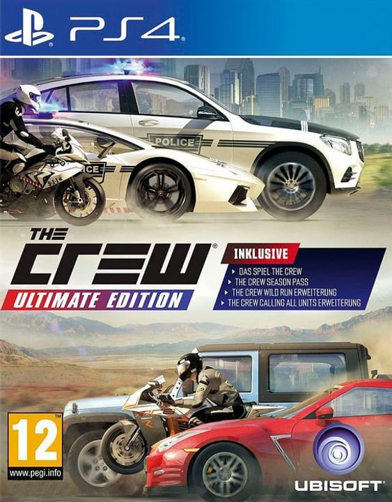 PS4 - The Crew Ultimate Edition D Box 785300138083 Photo no. 1