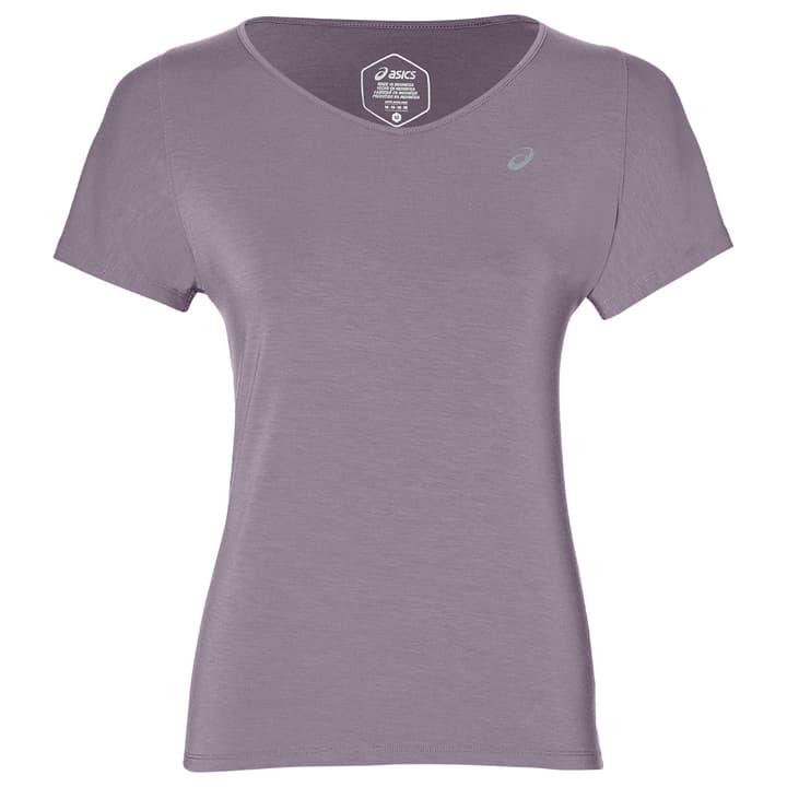 V-Neck SS Top Shirt pour femme Asics 470178300491 Couleur lilas Taille M Photo no. 1
