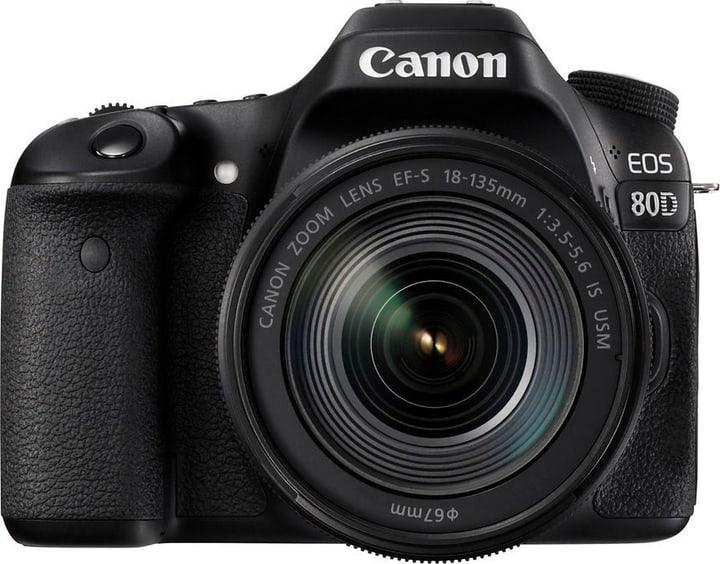 EOS 80D + 18-135mm IS USM Canon 785300126247 Bild Nr. 1