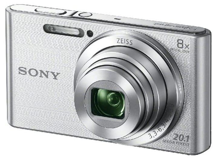 Cybershot DSC W830 argento Fotocamera compatta Sony 793408000000 N. figura 1