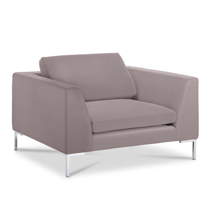NEWTON Matrix Sessel 360052418503 Grösse B: 110.0 cm x T: 102.0 cm x H: 80.0 cm Farbe Hellgrau Bild Nr. 1