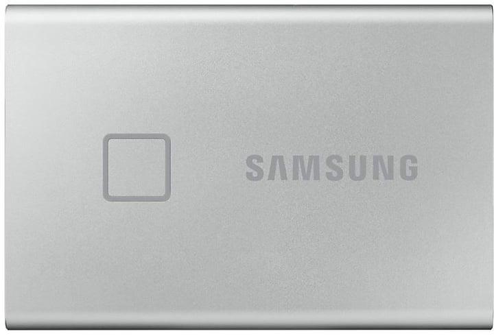 SSD T7 Touch portable 500GB argento SSD esterno Samsung 785300150216 N. figura 1