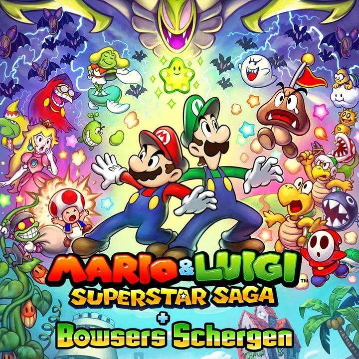 3DS - Mario & Luigi: Super Star Saga + Bowser Schergen 785300128797 N. figura 1