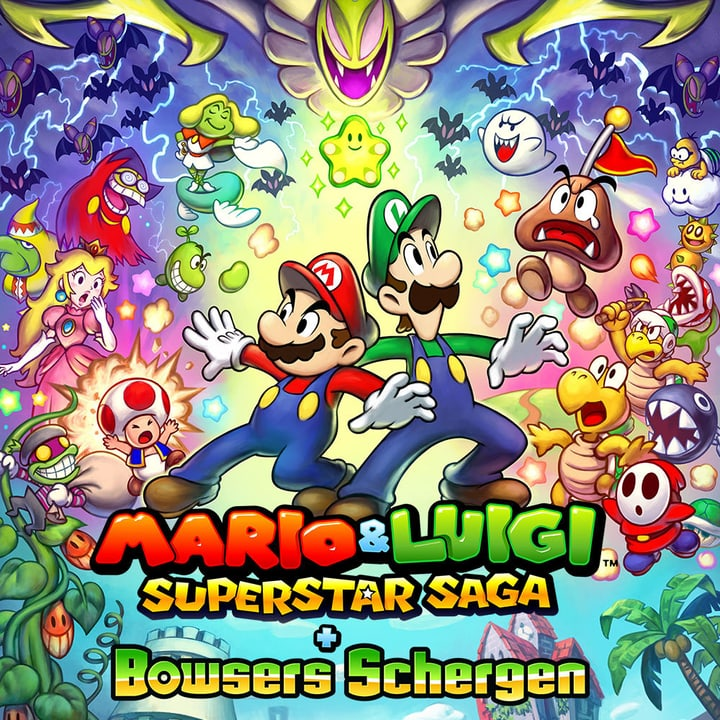 3DS - Mario & Luigi: Super Star Saga + Les sbires de Bowser Physisch (Box) 785300128795 Bild Nr. 1