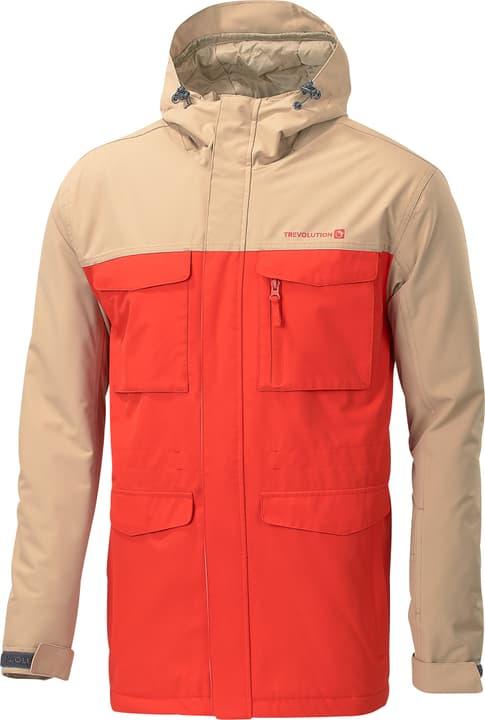Veste de snowboard pour homme Trevolution 460349500334 Couleur orange Taille S Photo no. 1