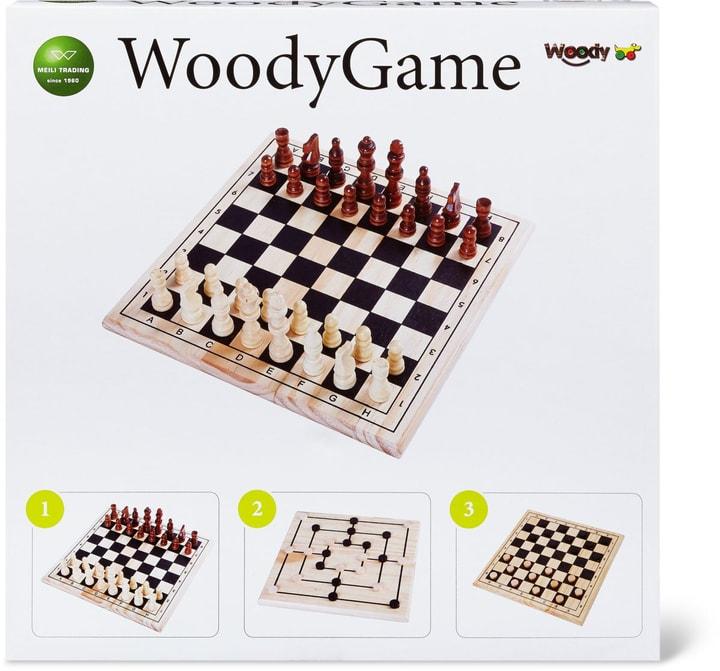 Set di scacchi e Tavola Mulino (FSC®) 748906890100 Lengua Francese N. figura 1