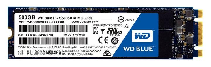 WD Blue PC SSD interno 500GB M.2 2280 Western Digital 785300124422 N. figura 1