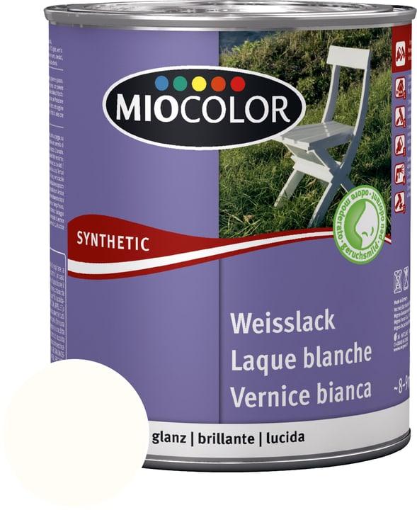 Laque acrylique blanche brillante Blanc pur 750 ml Miocolor 676770300000 Contenu 750.0 ml Couleur Blanc pur Photo no. 1