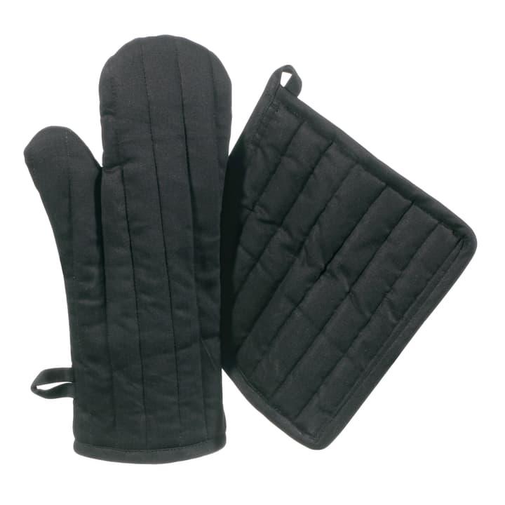RUFINO Set de gant de cuisine/manique 441078400120 Couleur Noir Dimensions L: 20.0 cm x H: 32.0 cm Photo no. 1