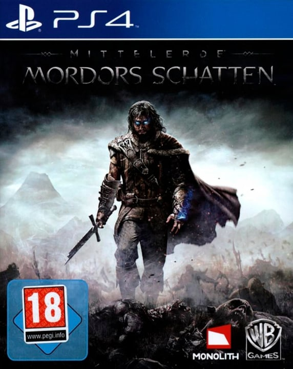 PS4 - Playstation Hits: Mittelerde - Mordors S Physisch (Box) 785300137764 Bild Nr. 1