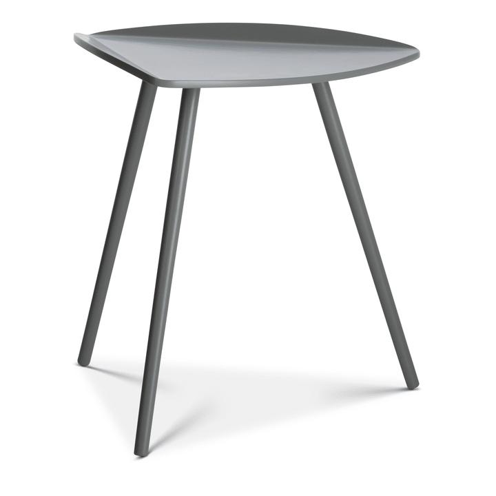 VILLA Beistelltisch grau 362210500000 Grösse H: 46.5 cm Farbe Grau Bild Nr. 1
