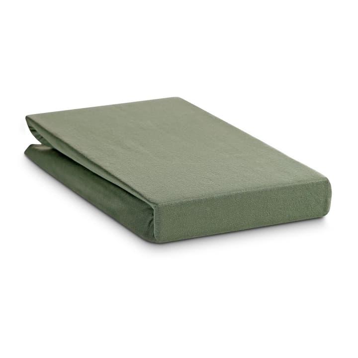 JERSEY Fixleintuch 376031429702 Farbe Grün Grösse L: 200.0 cm x B: 160.0 cm Bild Nr. 1