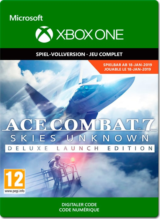 Xbox One - Ace Combat 7: Skies Unknown Deluxe Edition Download (ESD) 785300141420 N. figura 1