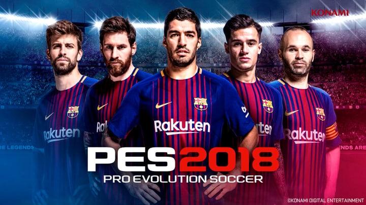 PC - Pro Evolution Soccer 2018  - FC Barcelona Edition Download (ESD) 785300133704 Bild Nr. 1