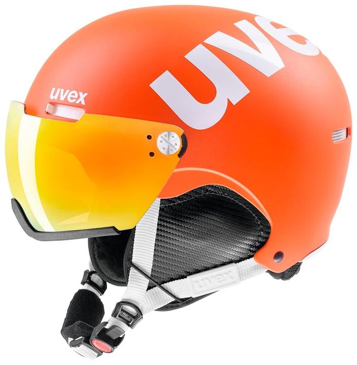 hlmt 500 visor Casque de sports d'hiver Uvex 461875552034 Couleur orange Taille 52-56 Photo no. 1