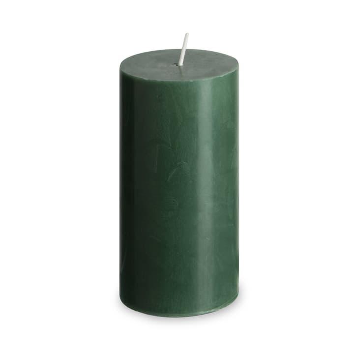 GREEN Zylinderkerze 396099400000 Farbe Dunkelgrün Grösse B: 6.0 cm x T: 6.0 cm x H: 12.0 cm Bild Nr. 1