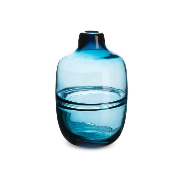 AULO Vase 396114300000 Grösse B: 12.0 cm x T: 12.0 cm x H: 18.0 cm Farbe Dunkelblau Bild Nr. 1
