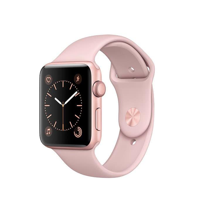 Watch Series 2, 42mm Boîtier en aluminium or rose avec Bracelet Sport rose des sables Apple 798180800000 Photo no. 1