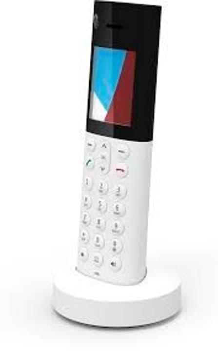 HD-Phone Zermatt bianco Telefono fisso Swisscom 785300124602 N. figura 1