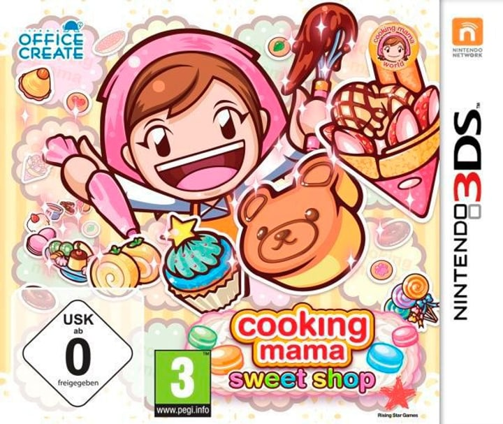 3DS - Cooking Mama - Sweet Shop! Box 785300122063 Photo no. 1