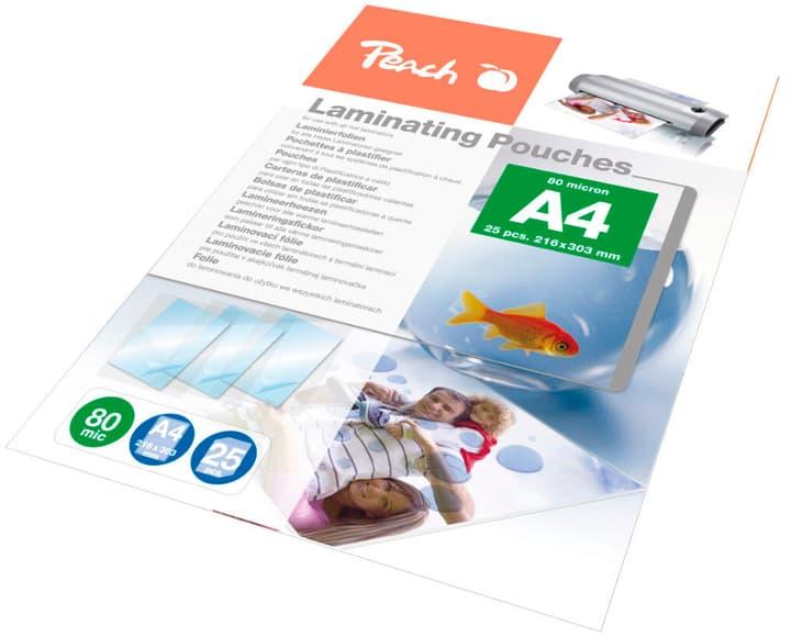 A4  80 micron Laminierfolie 25 Stück Peach 797124000000 Bild Nr. 1