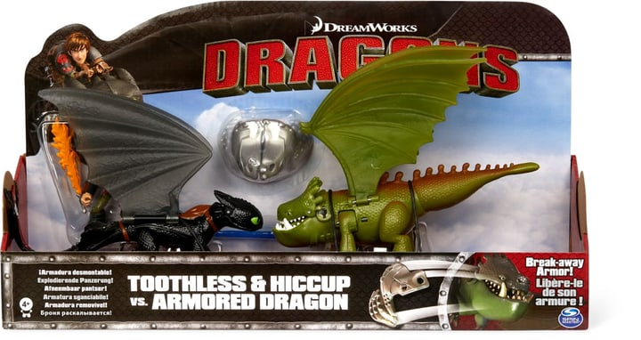 Dragons Toothless vs. Armored 748646700000 Photo no. 1