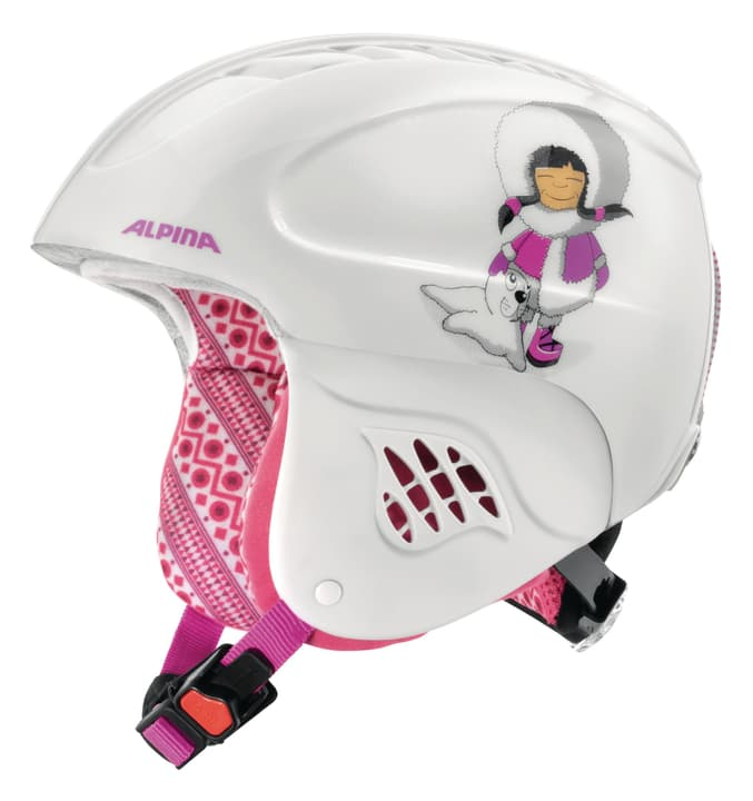 Carat Wintersport Helm Alpina 461835550229 Farbe pink Grösse 48-52 Bild Nr. 1