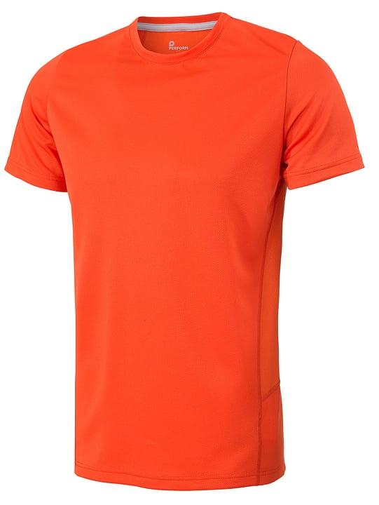 Shirt pour homme Perform 470150900634 Couleur orange Taille XL Photo no. 1