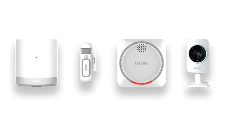 Smart Home Security Kit DCH-107KT D-Link 797961700000 Bild Nr. 1